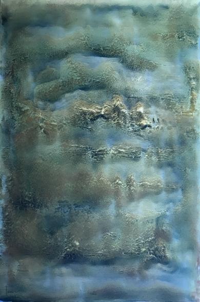 Entre nubes|PinturadeEnric Correa| Compra arte en Flecha.es