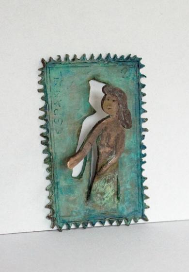 Ya no quiero ser un sello|EsculturadeAna Valenciano| Compra arte en Flecha.es
