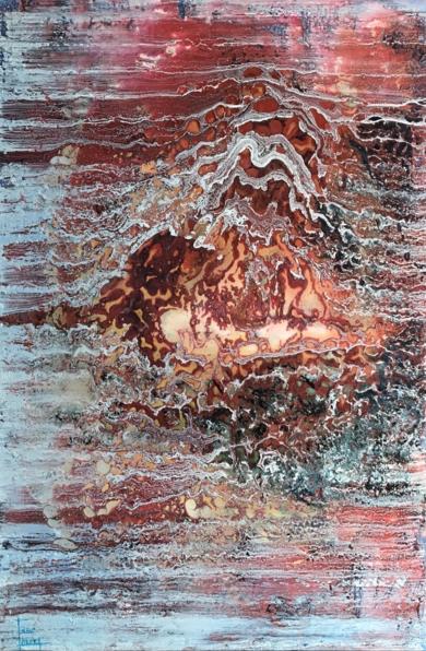 Explosión|PinturadeEnric Correa| Compra arte en Flecha.es