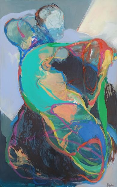 Dualities 2|PinturadeMagdalena Morey| Compra arte en Flecha.es