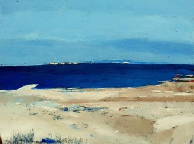 Winter Near The Sea|PinturadeKestutisj| Compra arte en Flecha.es