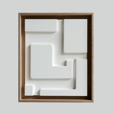 Blanco sobre Blanco_03|Escultura de pareddeCandela Muniozguren| Compra arte en Flecha.es