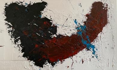 SOBRE EL INFINITO|PinturadeALFREDO MOLERO DOVAL| Compra arte en Flecha.es