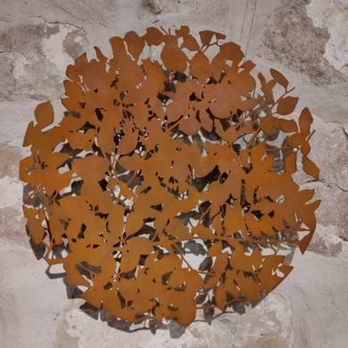 Hojas de haya|Escultura de pareddeCharlotte Adde| Compra arte en Flecha.es