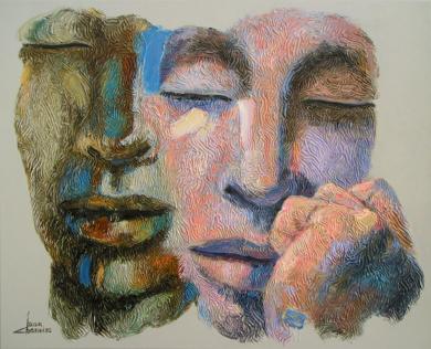 PAREJA|PinturadeJuan Chamizo| Compra arte en Flecha.es