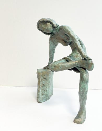El pie herido|EsculturadeAna Valenciano| Compra arte en Flecha.es