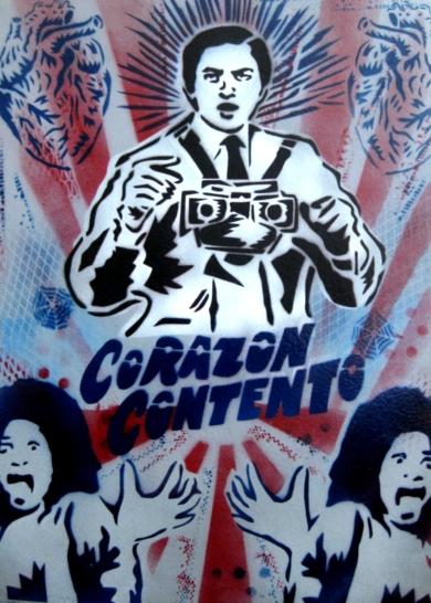 Corazón Contento|PinturadeCarlos Madriz| Compra arte en Flecha.es