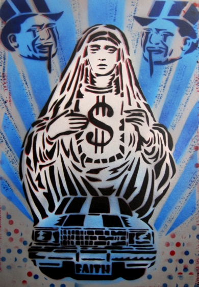 Faith|PinturadeCarlos Madriz| Compra arte en Flecha.es