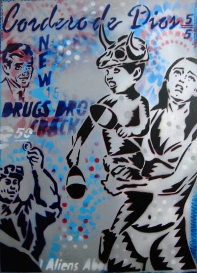 Cordero De Dios|PinturadeCarlos Madriz| Compra arte en Flecha.es