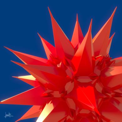 Eclosión|DigitaldeJavier Bueno| Compra arte en Flecha.es