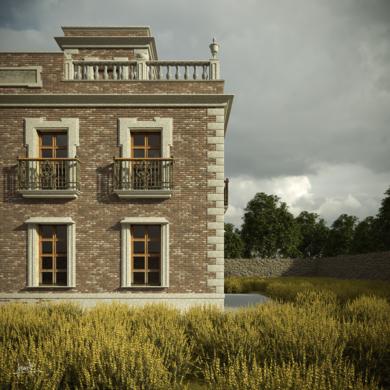 La casa|DigitaldeJavier Bueno| Compra arte en Flecha.es