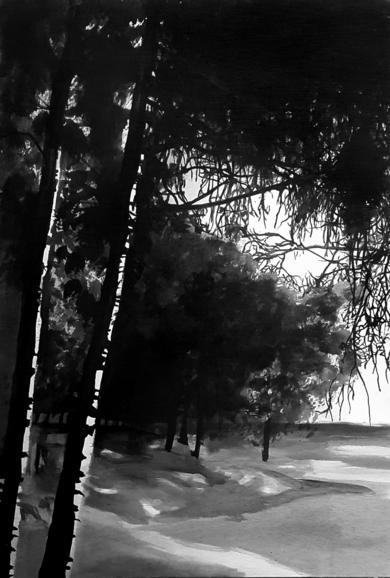 Bosque #1015|PinturadeAya Eliav| Compra arte en Flecha.es
