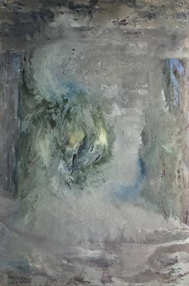 Tormenta de tierra|PinturadeEnric Correa| Compra arte en Flecha.es