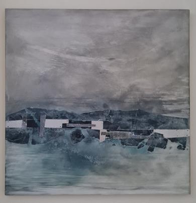 EL PUENTE|PinturadeCRUZ NAVARRO| Compra arte en Flecha.es