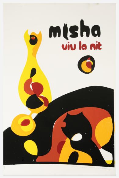 © Cafe Misha - viu la nit|Obra gráficadeRICHARD MARTIN| Compra arte en Flecha.es