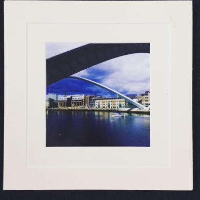 Millennium Bridge│British landscape│acid-free photo paper│printed and produced │Made in the UK|FotografíadeJHIH YU CHEN| Compra arte en Flecha.es
