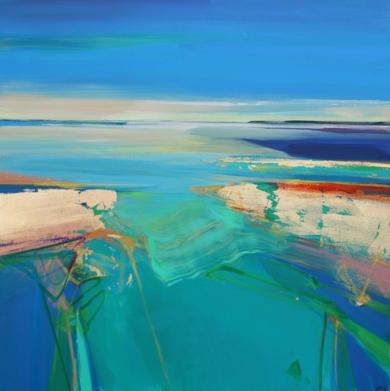 Liquid Sands 1 PinturadeMagdalena Morey  Compra arte en Flecha.es