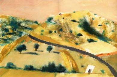 Castilla después del verano|PinturadeEugenio Vega| Compra arte en Flecha.es