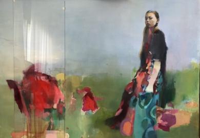 Manuela|CollagedeAna Alcaraz| Compra arte en Flecha.es