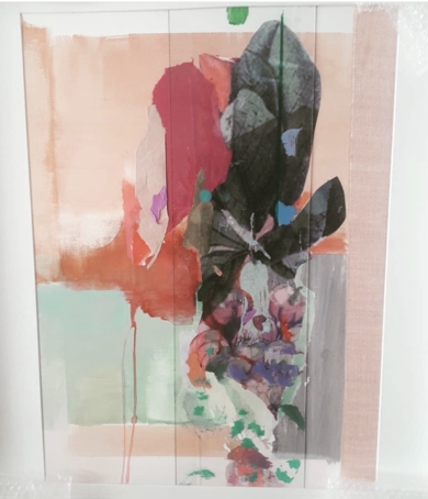 Serie Botanico|CollagedeAna Alcaraz| Compra arte en Flecha.es