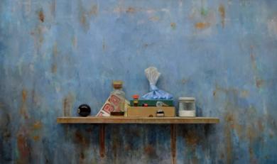 Pigmento Azul  II|PinturadeLUIS    GOMEZ    MACPHERSON| Compra arte en Flecha.es