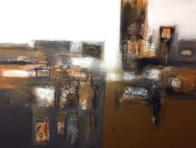 Dentro del muro, la tierra|PinturadeMallo| Compra arte en Flecha.es
