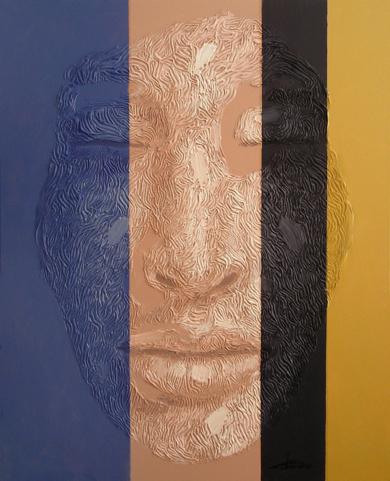 PERSONAJE 51|PinturadeJuan Chamizo| Compra arte en Flecha.es