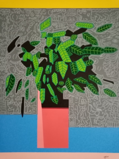 Calathea|PinturadePhilip Verhoeven| Compra arte en Flecha.es