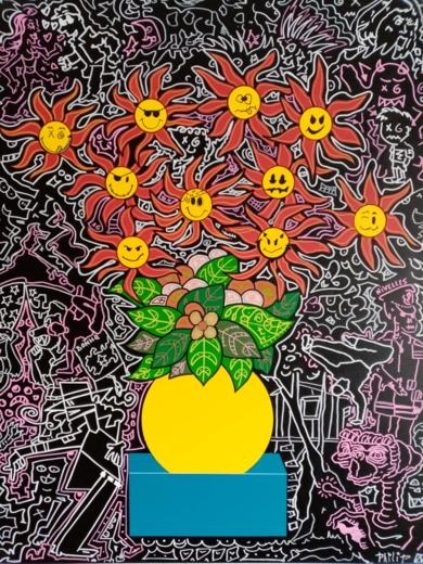 Living in video|PinturadePhilip Verhoeven| Compra arte en Flecha.es