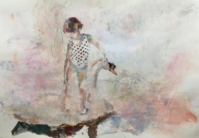 Alma blanca|CollagedeGloria Loizaga| Compra arte en Flecha.es