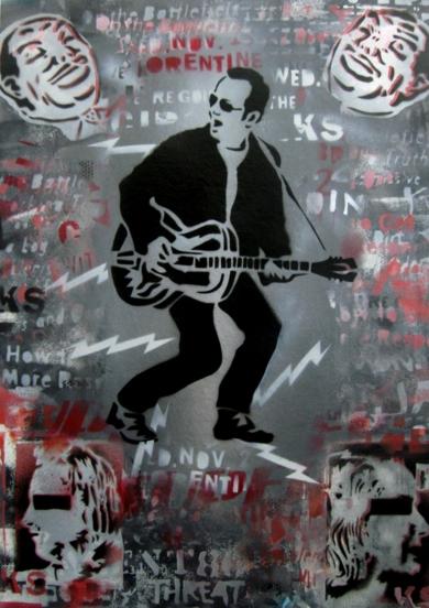 The Last Days Of Combat Rock|PinturadeCarlos Madriz| Compra arte en Flecha.es
