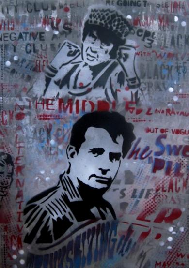 Adiós Beat|PinturadeCarlos Madriz| Compra arte en Flecha.es