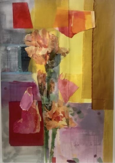 Iris|CollagedeAna Alcaraz| Compra arte en Flecha.es