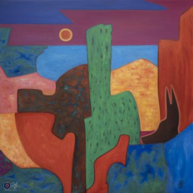 The Ally|PinturadeHelena Revuelta| Compra arte en Flecha.es