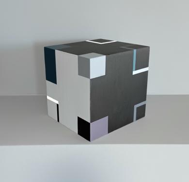 Cube  G|EsculturadeLuis Medina| Compra arte en Flecha.es