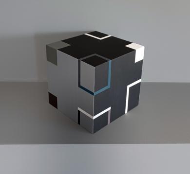 Cube H|EsculturadeLuis Medina| Compra arte en Flecha.es