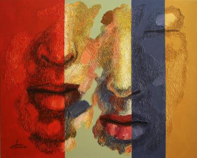 PAREJA 52|PinturadeJuan Chamizo| Compra arte en Flecha.es