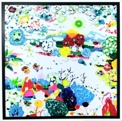 Jardín vertical|PinturadeALEJOS| Compra arte en Flecha.es