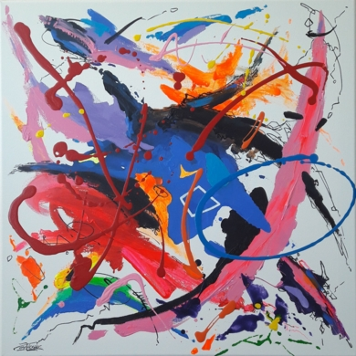 Take Five - The Dave Brubeck Quartet|PinturadeValeriano Cortázar| Compra arte en Flecha.es