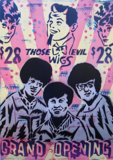 Wigs|PinturadeCarlos Madriz| Compra arte en Flecha.es