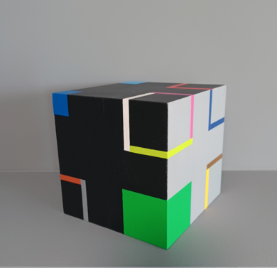 Cube I|EsculturadeLuis Medina| Compra arte en Flecha.es