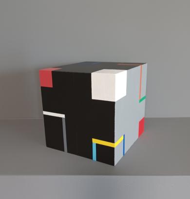 Cube J|EsculturadeLuis Medina| Compra arte en Flecha.es