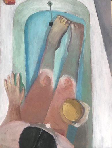 Serie Bath time variations|PinturadeSusana Mata| Compra arte en Flecha.es