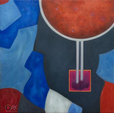 Wormhole|PinturadeHelena Revuelta| Compra arte en Flecha.es