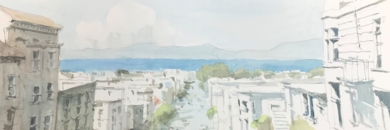 Bahía de San Francisco|PinturadeIñigo Lizarraga| Compra arte en Flecha.es