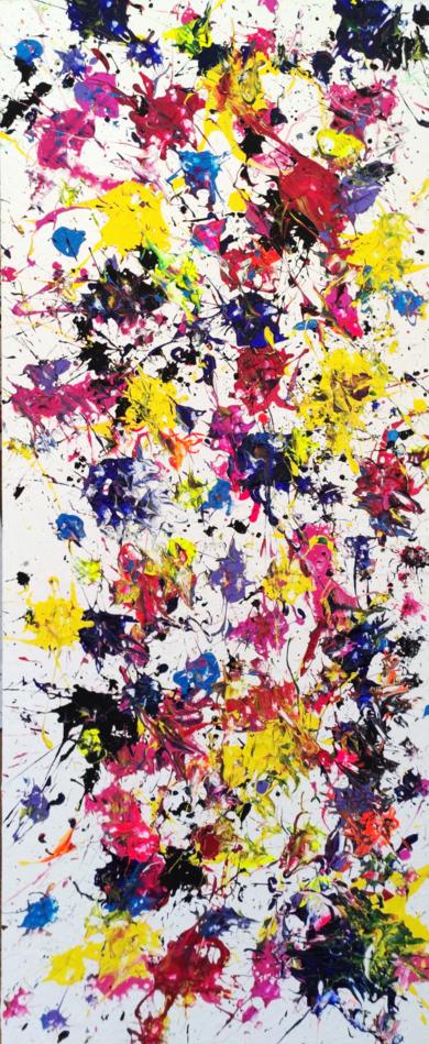 Campo de flores|PinturadeRemedios Rubiales| Compra arte en Flecha.es