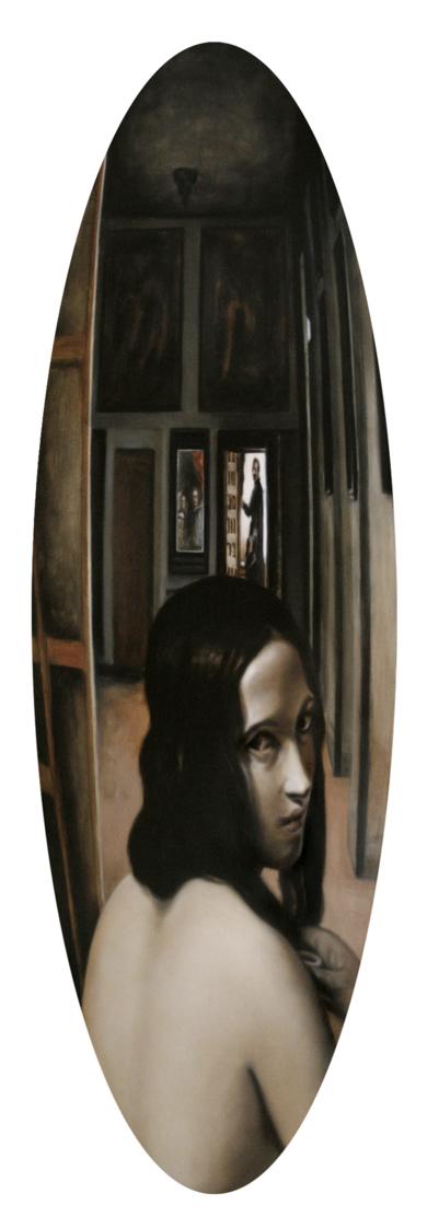 Bañoval|PinturadeEnrique González| Compra arte en Flecha.es
