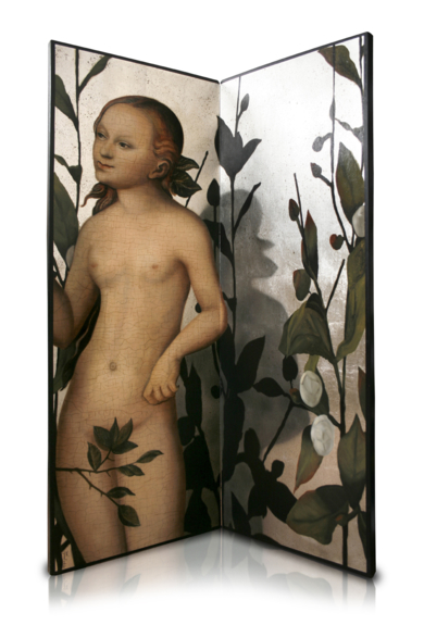 Biombo Cranach|EsculturadeEnrique González| Compra arte en Flecha.es