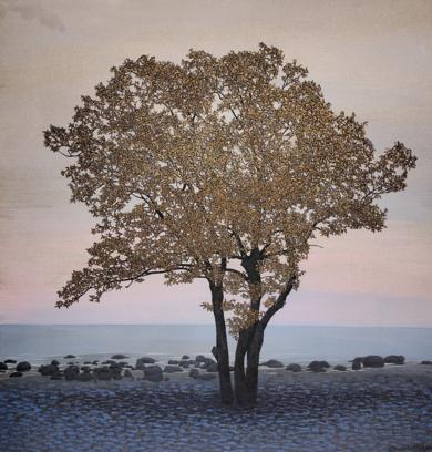 Arbol y horizonte|PinturadeCharlotte Adde| Compra arte en Flecha.es