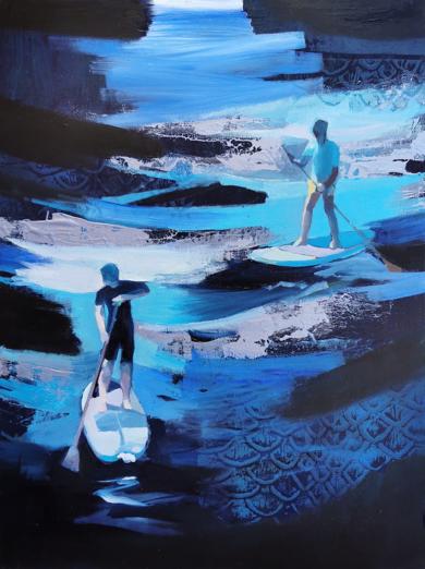 Aguas borrascosas|PinturadeCarmen Montero| Compra arte en Flecha.es